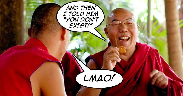 Some Buddhist Humour